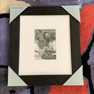 """New Black 5x7"""" picture frame"""